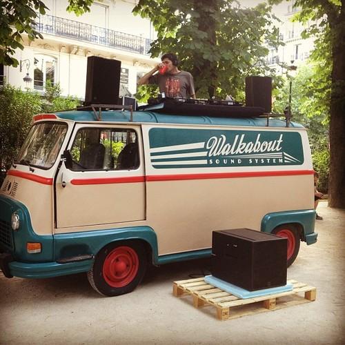 walkabout sound system paris gaite lyrique summer 2013