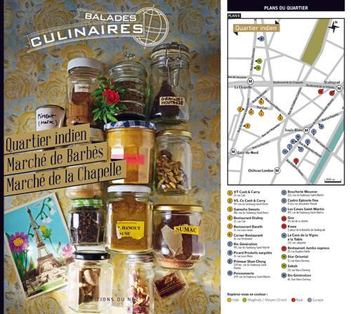 balade culinaire book paris