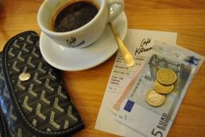 kitsune cafe paris coffeeshop americano goyard euro