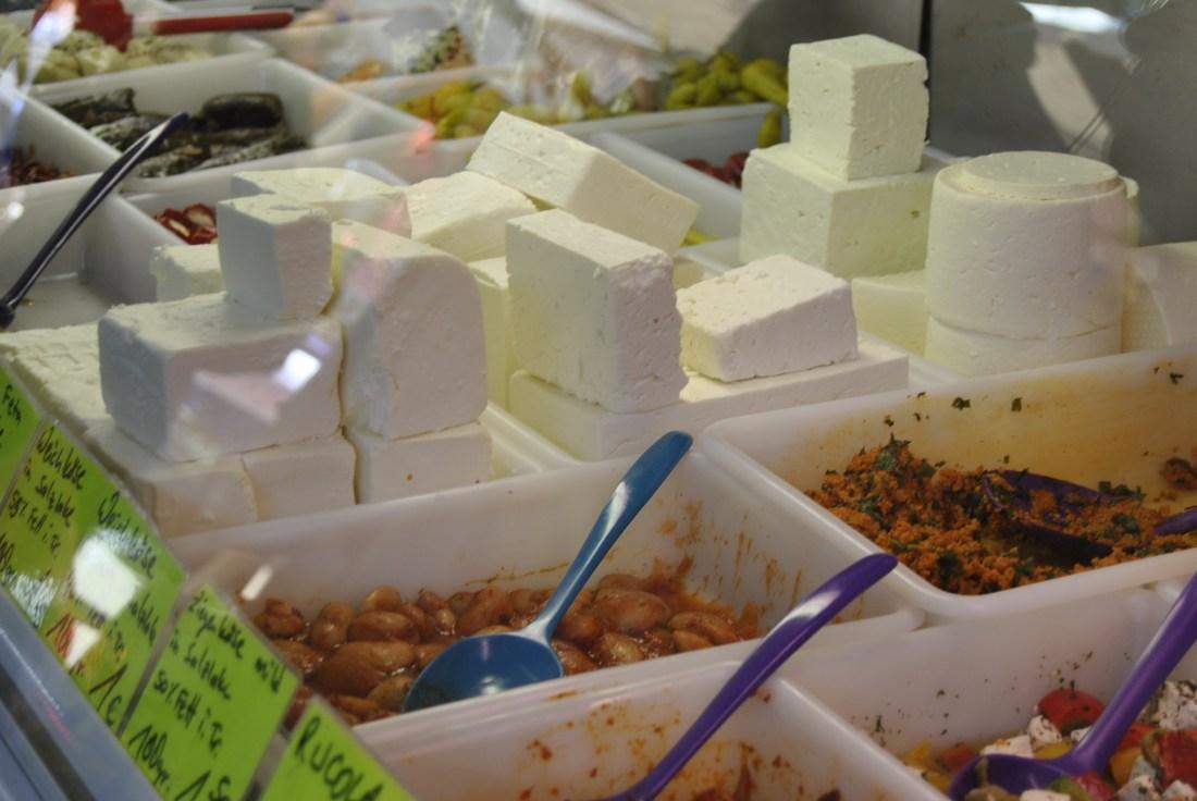 berlin turkish market many feta cheese