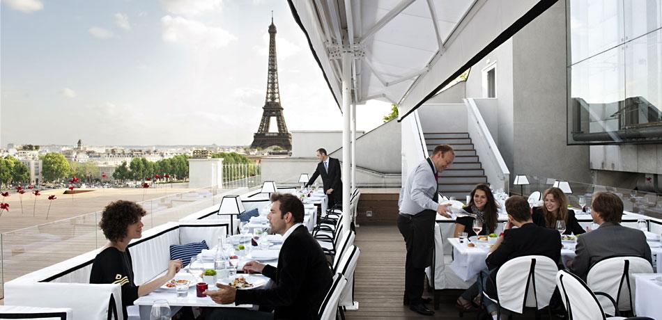 maison-blanche rooftop paris