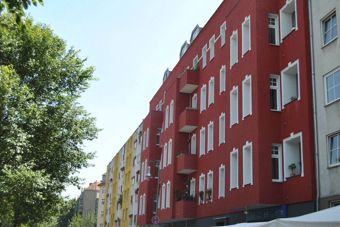 red apartments berlin