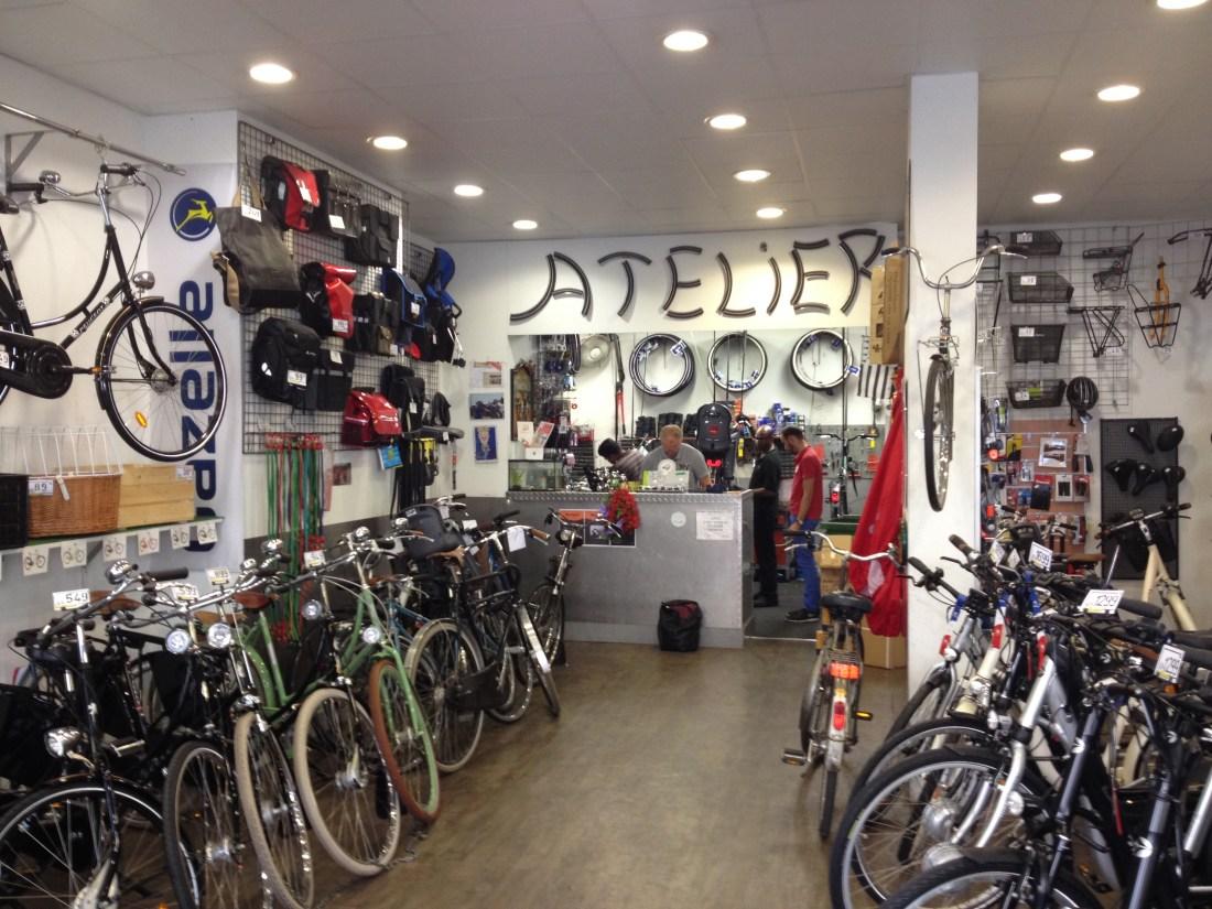 bicycle shop paris