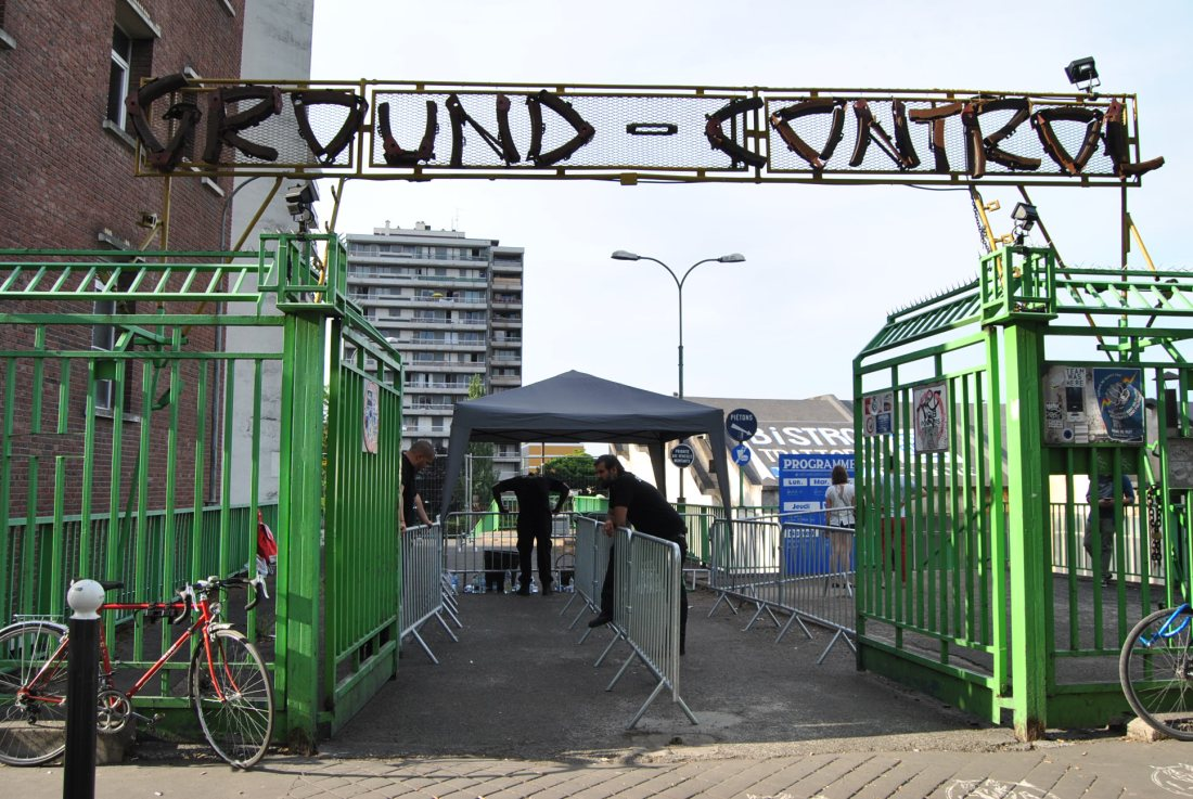 ground control entrance