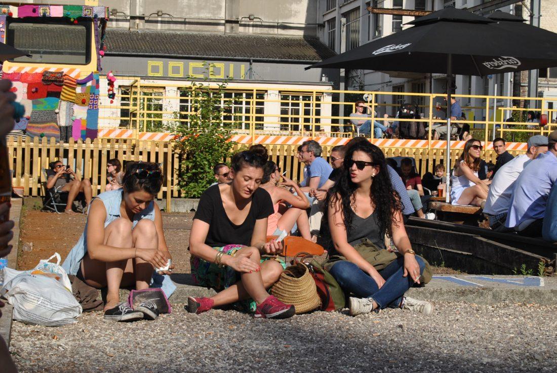 people in the sun ground control paris