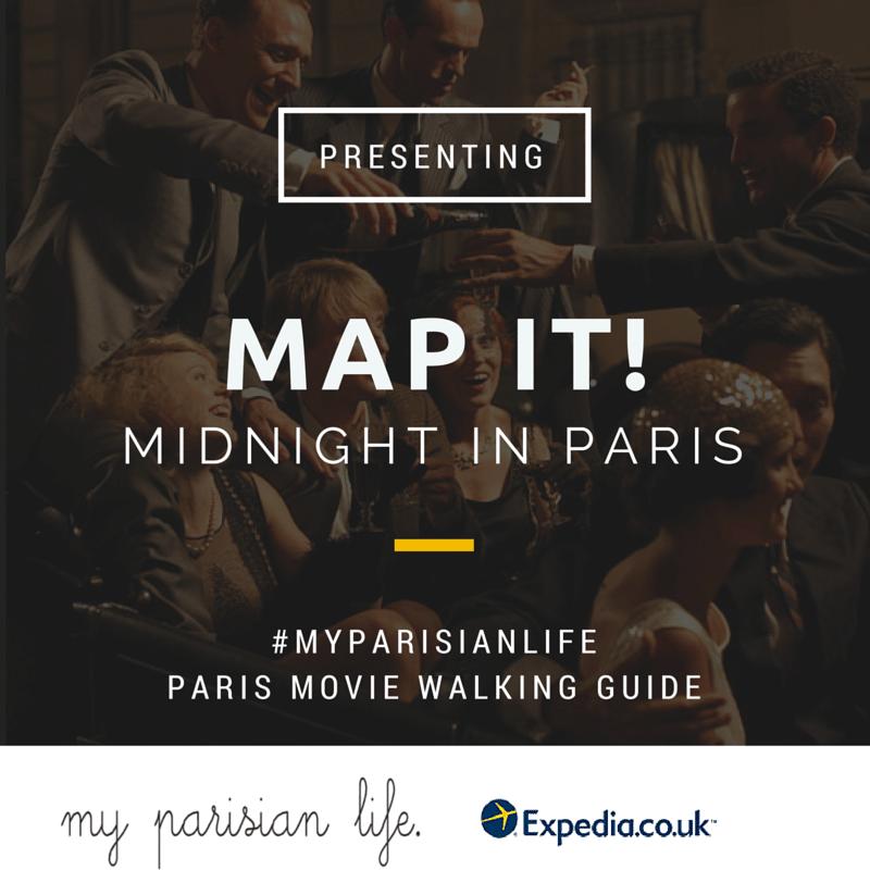 Midnight in Paris MOvie walk paris city guide blog