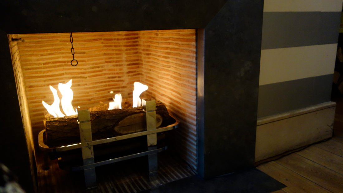 fire places ambiance at radisson blu champs elysee