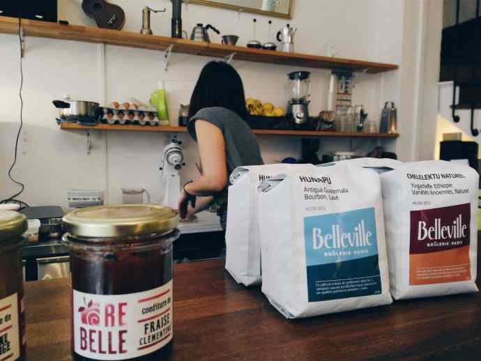 belleville coffee paris