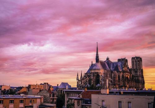Reims from Paris