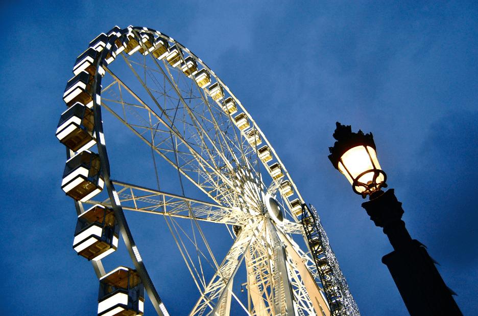 paris grande wheel christmas 2016