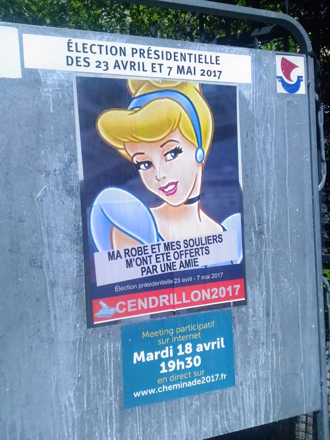 french presidential election posters
