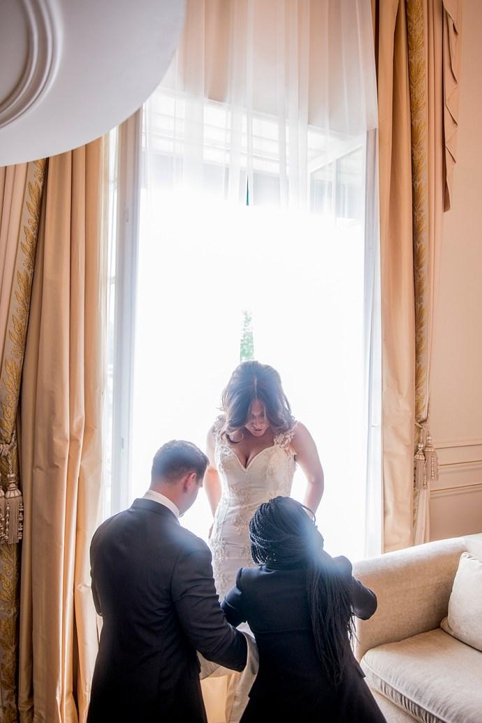 Yanique planning wedding in paris