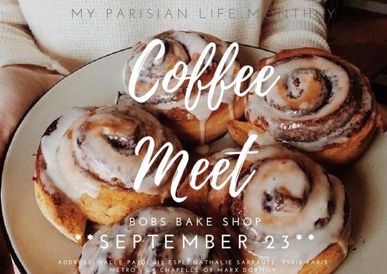 Coffee Meet paris my parisian life