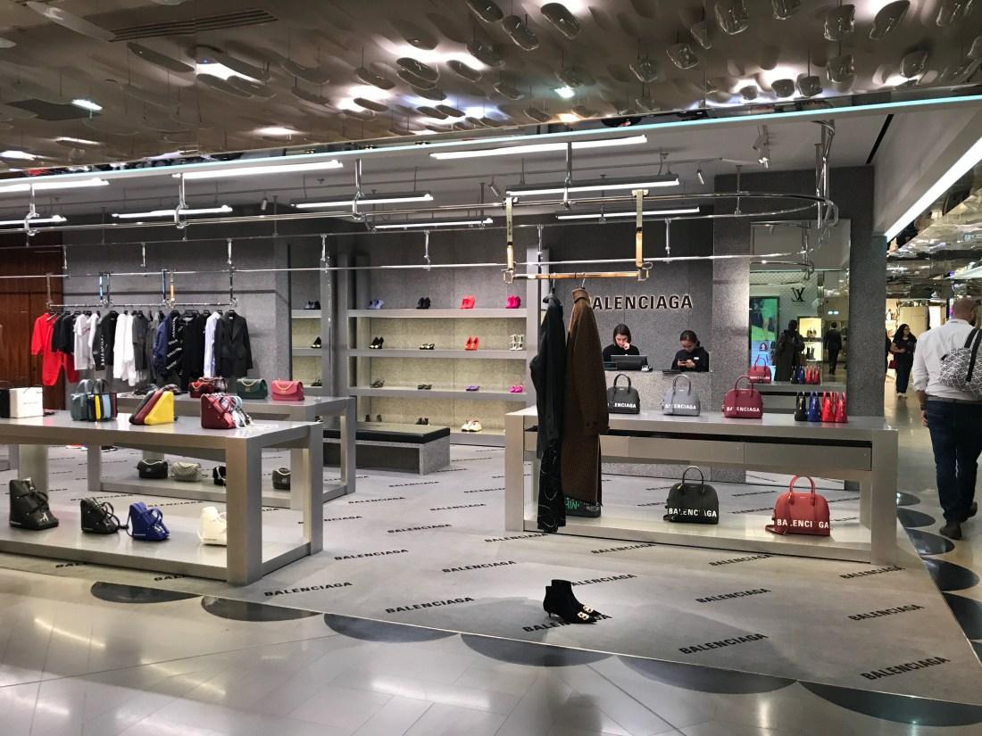 balenciaga shopping galeries lafayette paris
