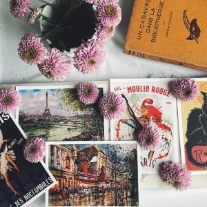 shop french postcards vintage france