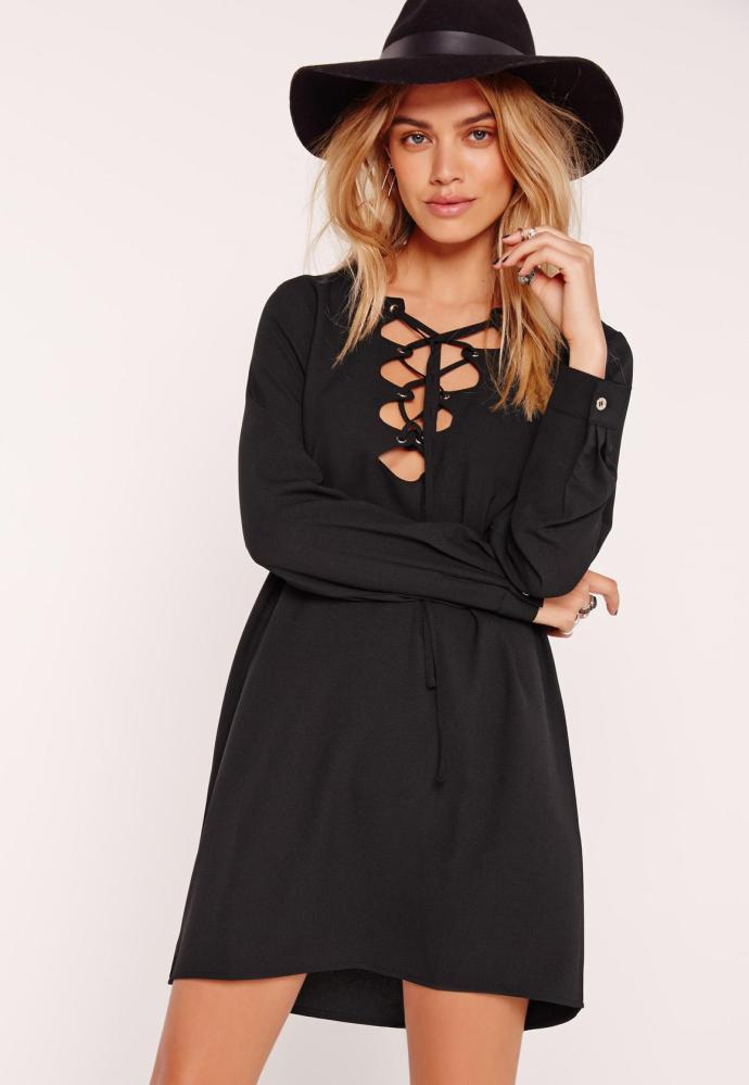 Robe droite missguided