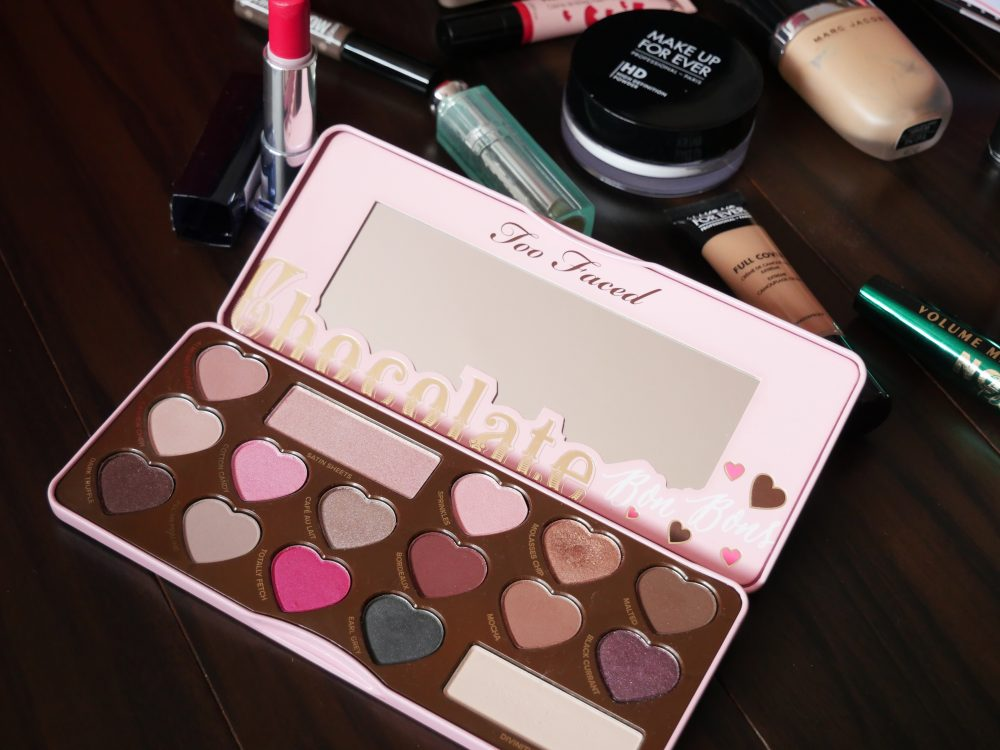 palette chocolate bonbons too faced