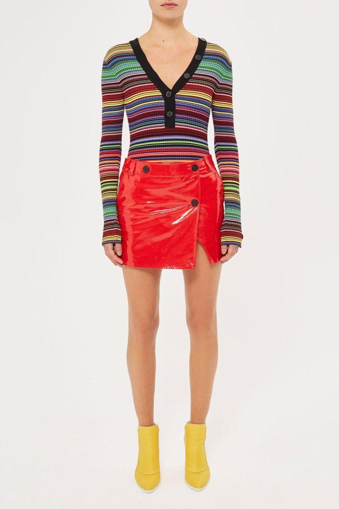 look-space-jupe-vernie-portefeuille-rouge-topshop