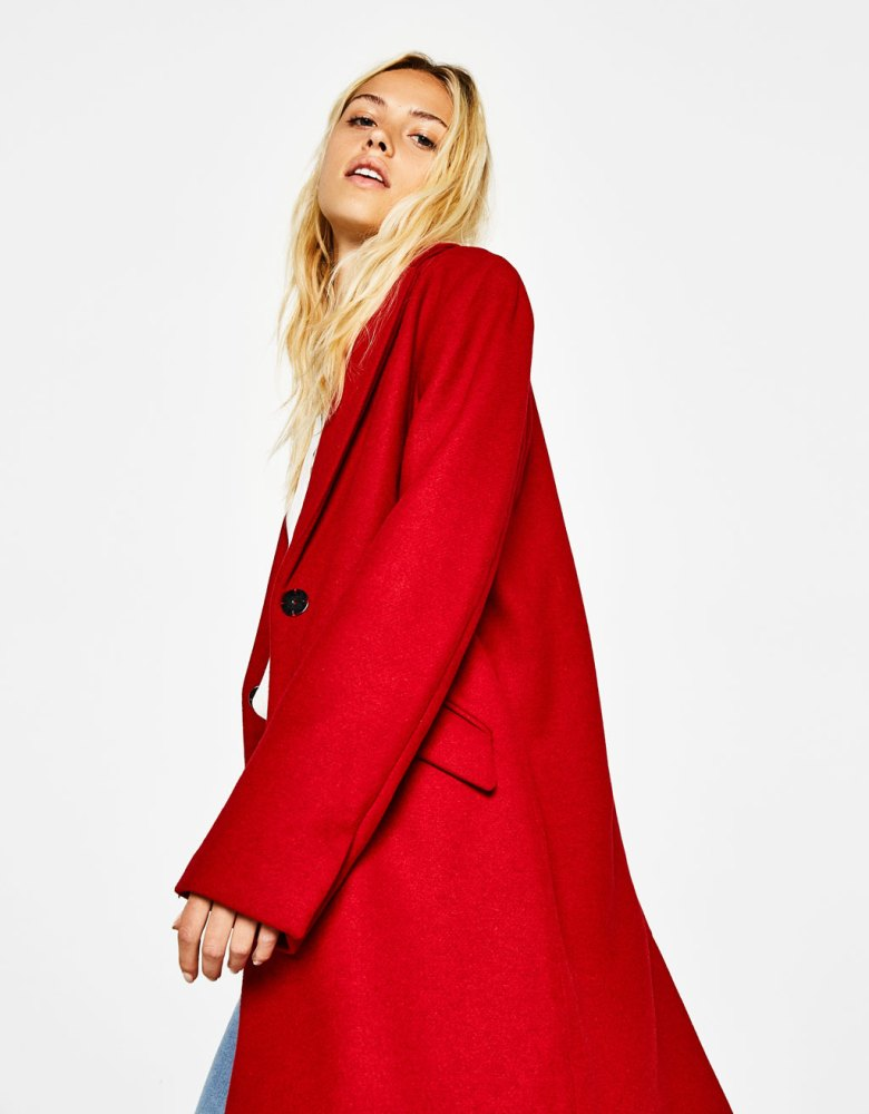 manteau-bershka-coupe-masculine-rouge-laine-automne-hiver