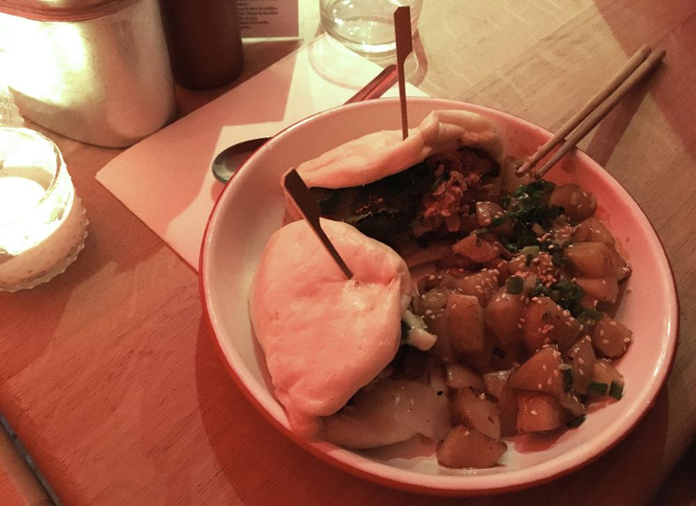 bonnes-adresses-paris-restaurants-21g-dumpling-burger-poulet-pommes-sautees