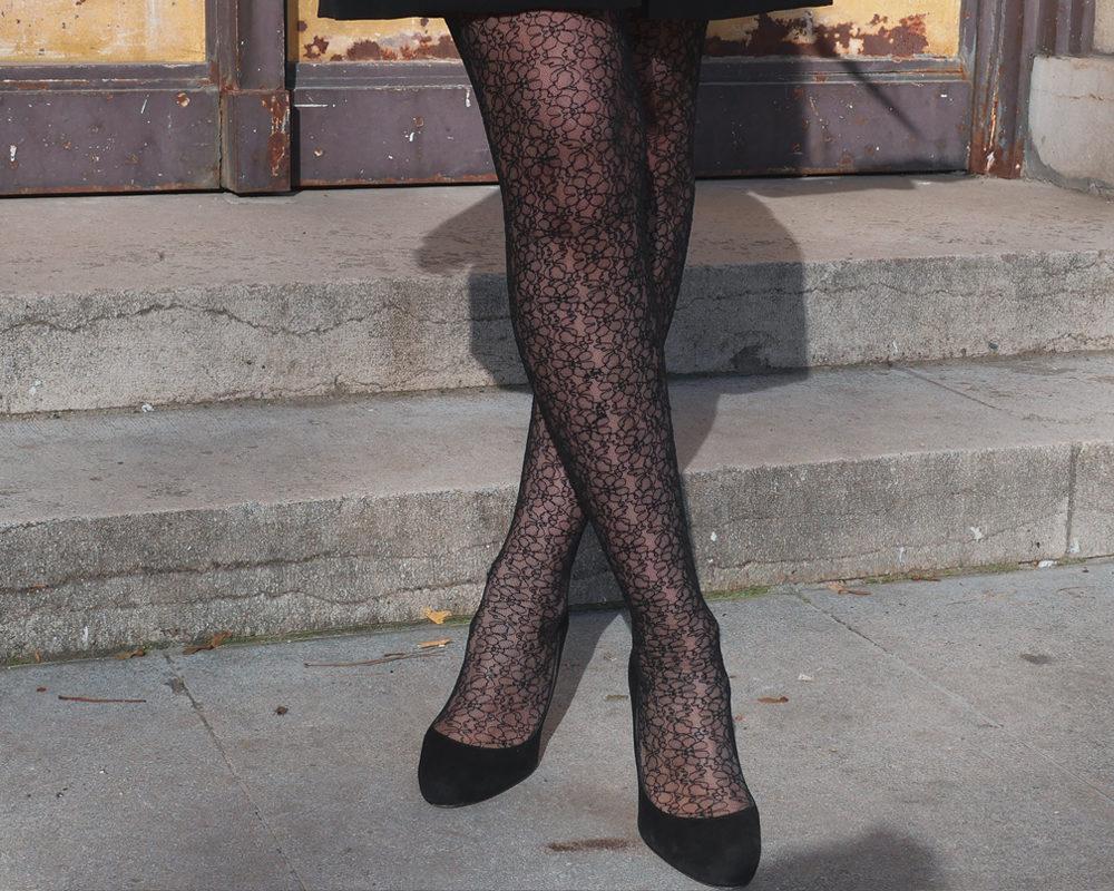 look-blazer-dress-mode-style-paris-bas-fleur-calzedonia