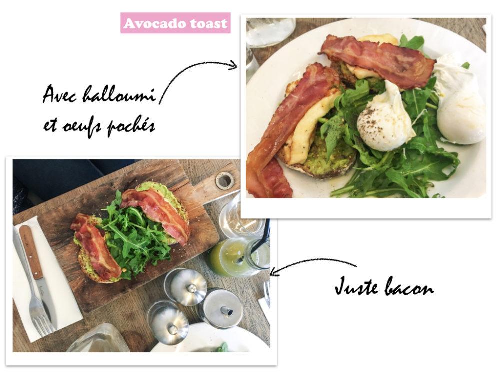 season avocado toast