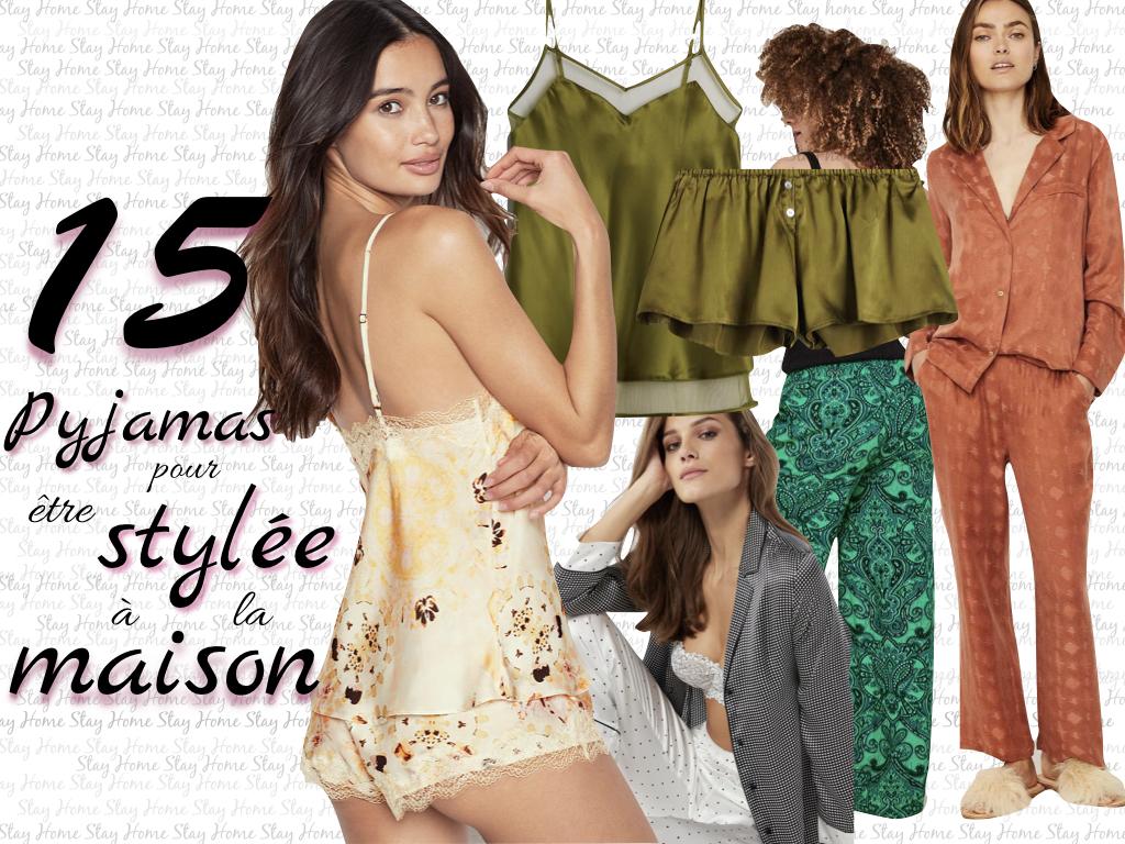 sélection pyjamas confinement