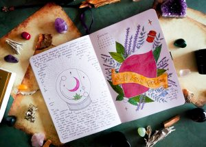self-love-potion-bullet-journal-fevrier-2021-theme