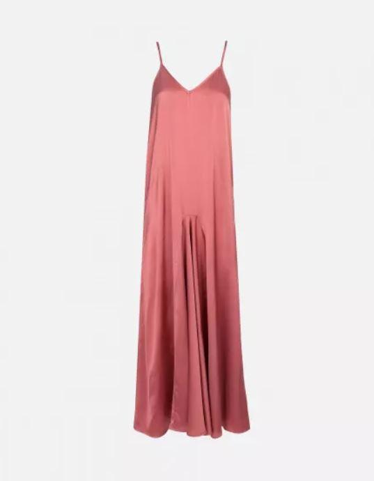 robe-longue-satin-rose-reiko