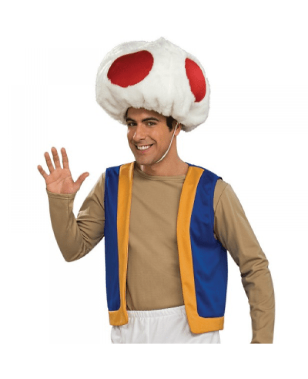 Toad Super Mario Brothers Costume