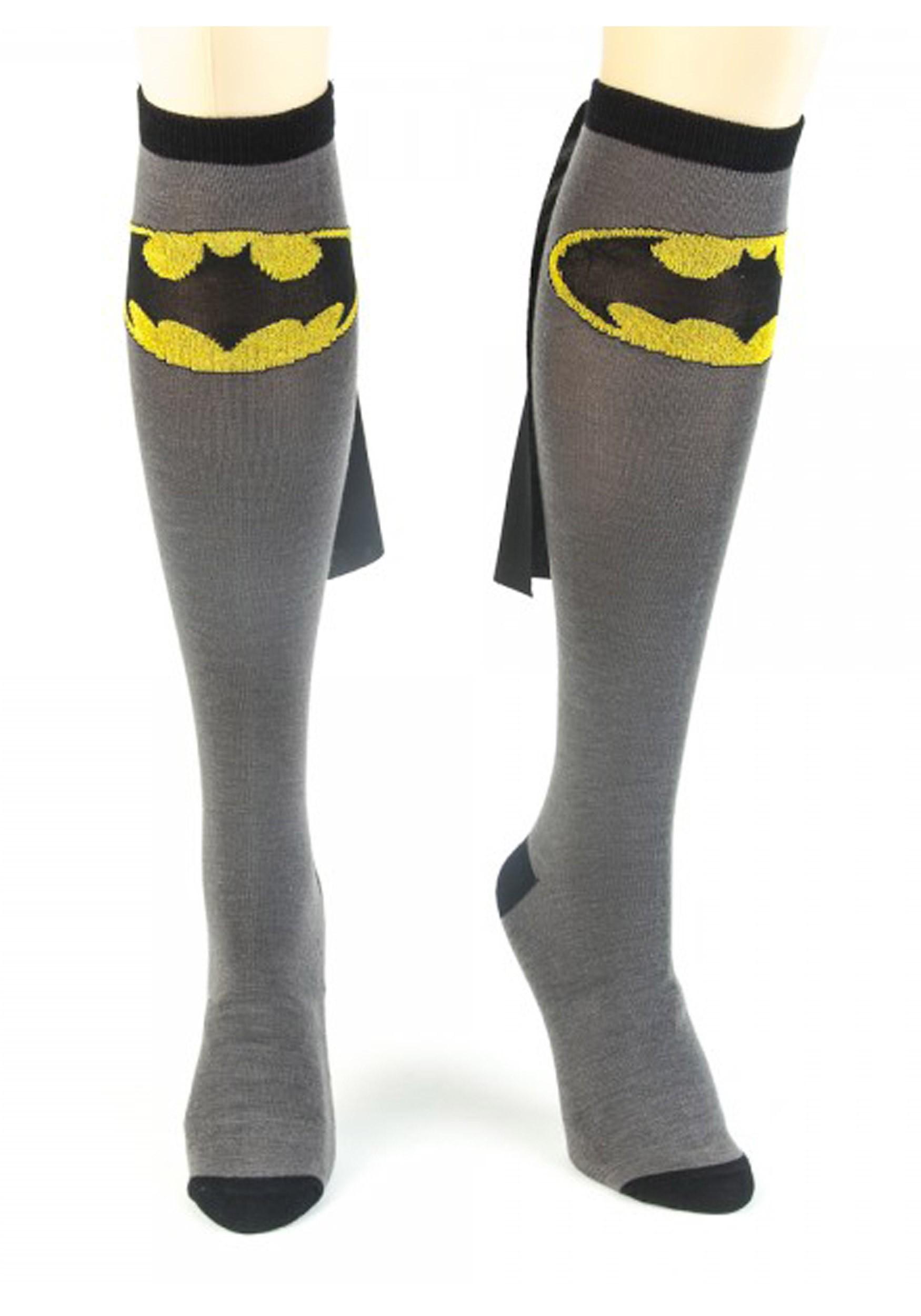 Superman Knee High Cape Sock