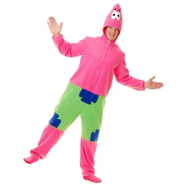 Pink Patrick Starfish Costume