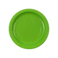 Lime Green Paper Plates & 60pcs 9 Round Green Paper Plates ...