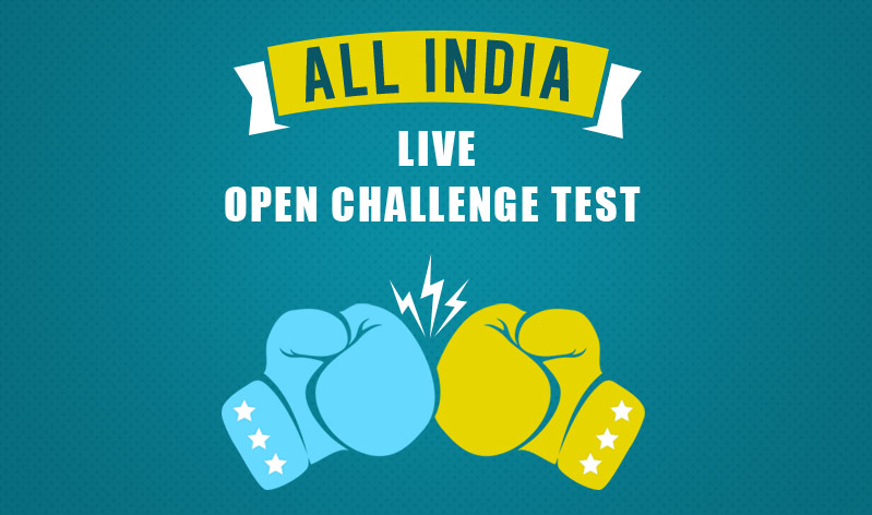 All India Live Open Challenge Test From myPAT