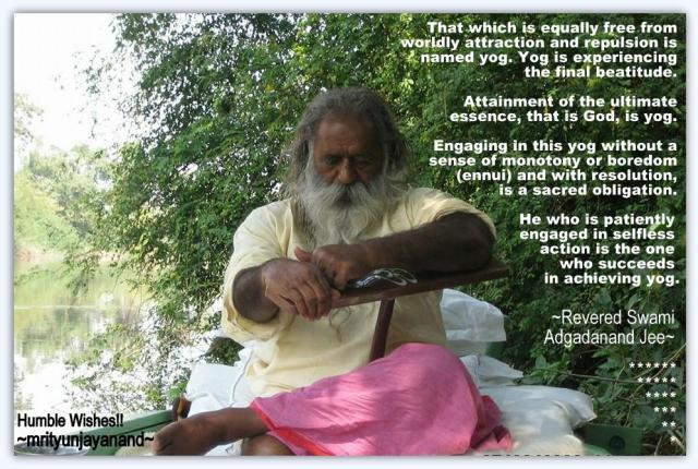Attainment of the ultimate essence....!!!