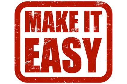 make it easy my