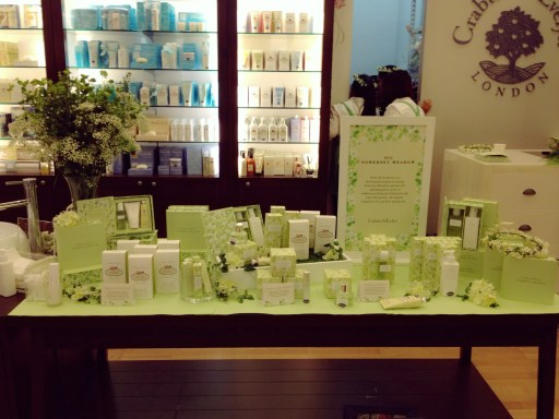 crabtree and evelyn somerset meadow launch at vivocity