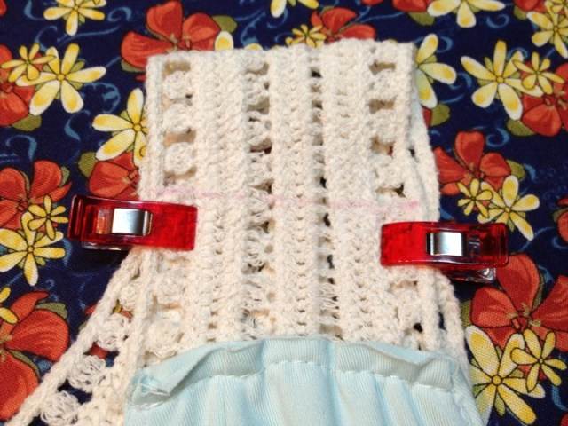 how to shorten dress strap alteration