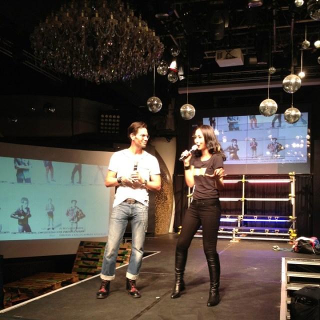 Bobby Tonelli and Ross 987fm DJs Levi's 501 interpretation party zouk singapore