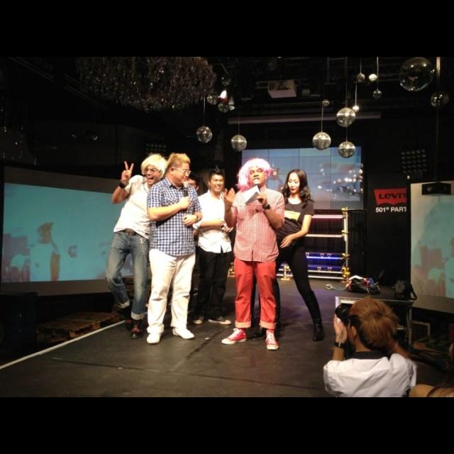 987fm DJs Levi's 501 Interpretation party at Zouk Singapore
