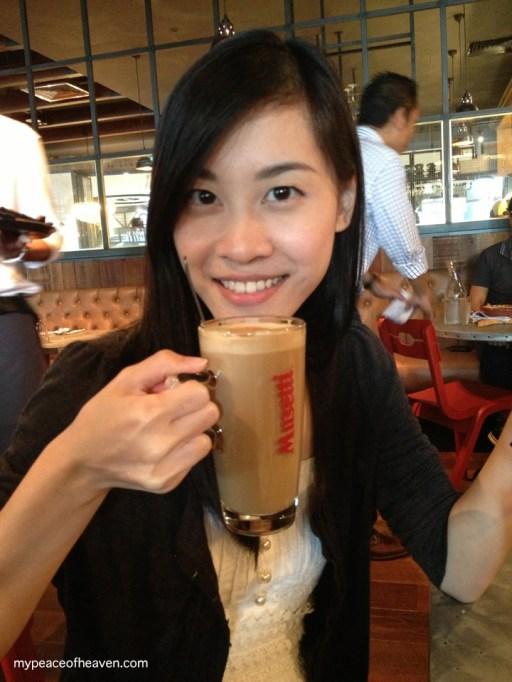 [Food] Jamie's Italian Singapore Latte