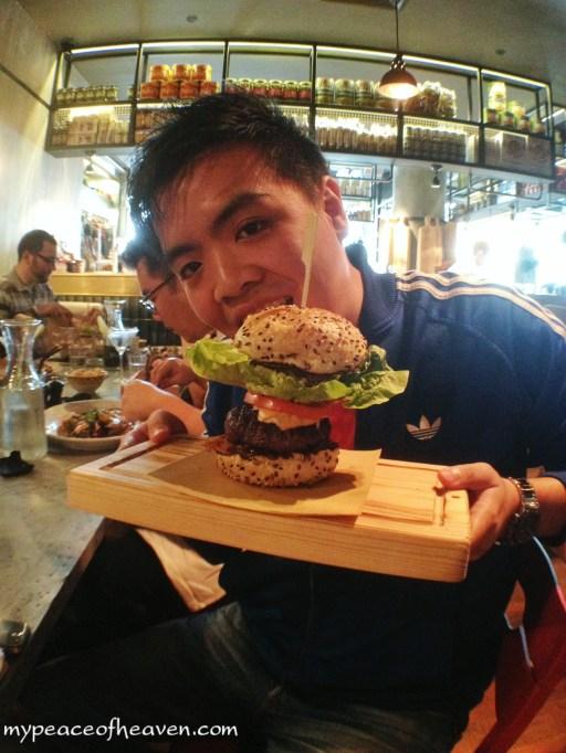 [Food] Jamie's Italian Singapore Jamie's Italian Burger