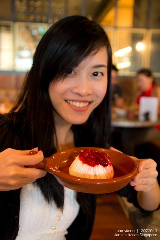 [Food] Jamie's Italian Singapore Creamy Panna Cotta