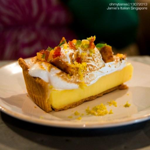 [Food] Jamie's Italian Singapore Tutti Frutti Lemon Meringue Pie