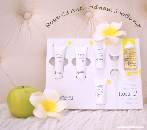 Kéring Skin Singapore Rosa-C3 Anti-Redness and Soothing Facial Treatment Set