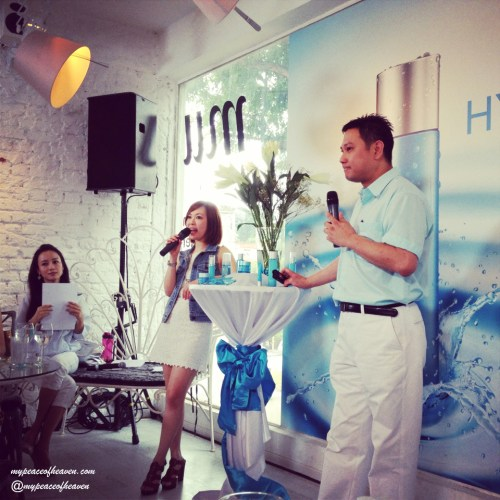 Neutrogena Hydro Boost Launch Event Singapore