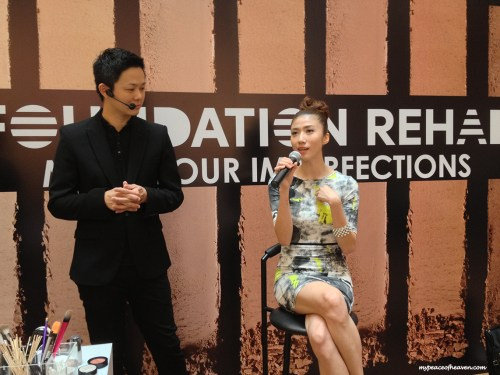 Kate Pang XIn Lei at Sephora Foundation Rehab Event Mediacorp Channel 8