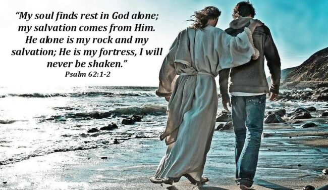 God Fills the Shoes of the Best Friend Ever