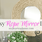 Make an Easy DIY Rope Mirror