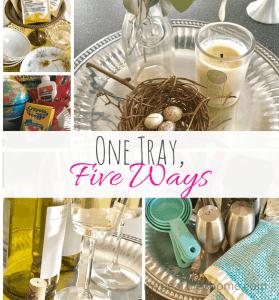 one tray, five ways